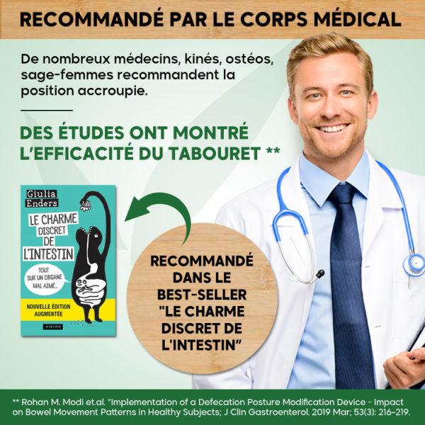 squatty potty recommandé medecin avis medical