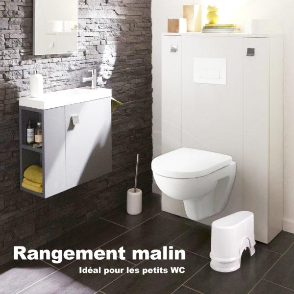 tabouret wc compact salle de bain