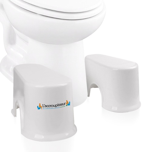 tabouret wc accroupisseur compact