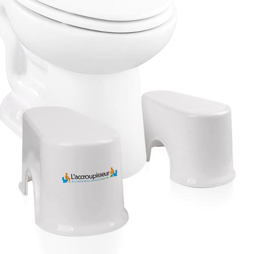 tabouret wc accroupisseur compact